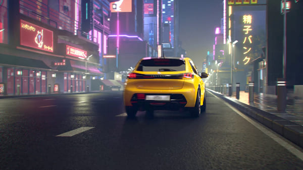 Peugeot Tokyo Night