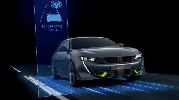 Peugeot Print CGI ADAS